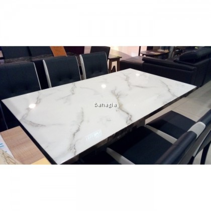 Copa 1+6 Marble Dining Set