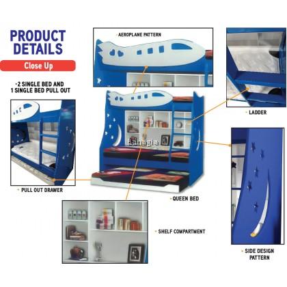 Aeroplane Bunk Bed