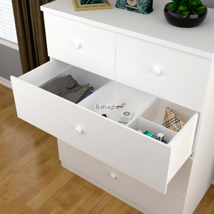 Chest Drawer - White