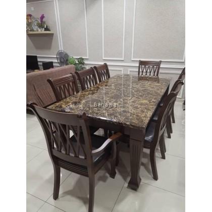 Bimba Marble Dining Set