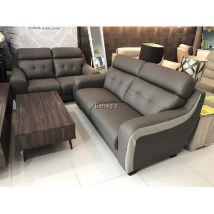 Jim 2+3 Leather Sofa Set