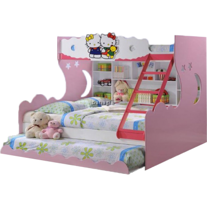 Hello Kitty Bunk Bed