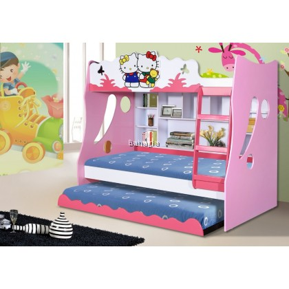 Hello Kitty Bunk Bed Single