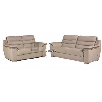 Flynn 2+3 Leather Sofa Set
