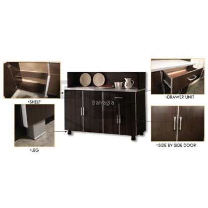 Lucie Kitchen Cabinet (High)