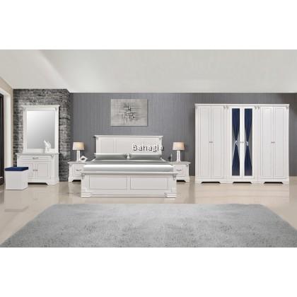 Veronica Bedroom Set (Snow)