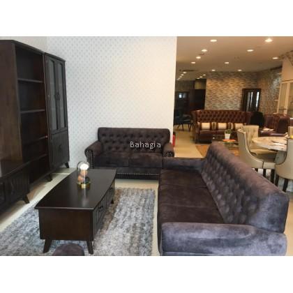 Brono 6'TV Cabinet + Coffee Table