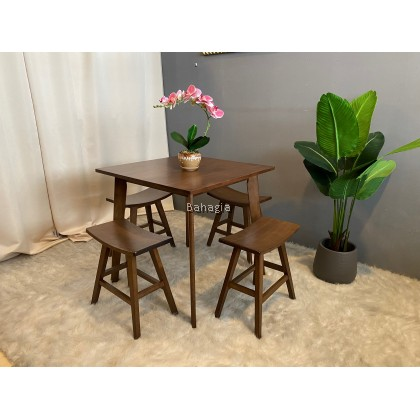 Woody 1+4 Dining Set