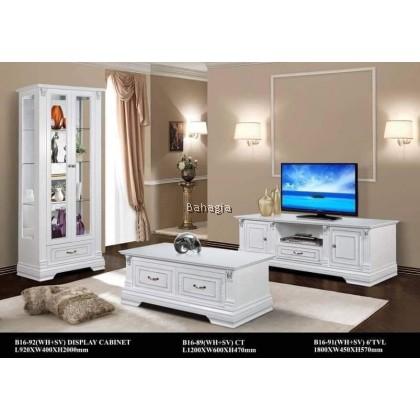 Veronica 6'TV Cabinet + Coffee Table