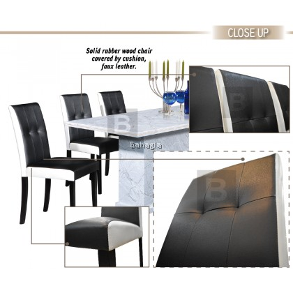 Copa Grey 1+6 Dining Set