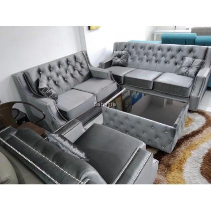 MANHANTHAN Velvet Sofa Series