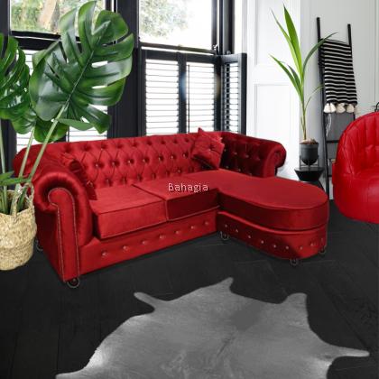Lenorita LVelvet Sofa Collection