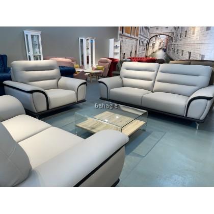 Fantacia Leather Sofa Set