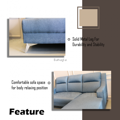 Serta L Shape Sofa