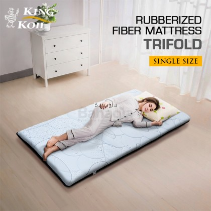 King Koil Rubberized Fiber Mattress Trifold
