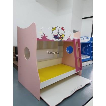 Hello Kitty Single Beds Bunk