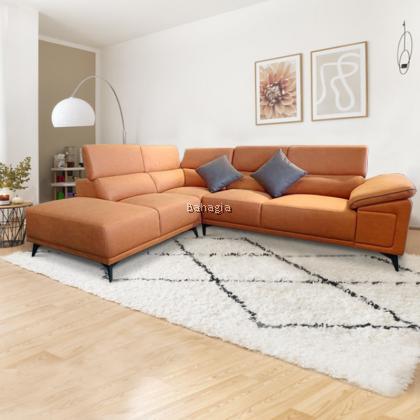 Grace L Shape 5 Seater Sofa