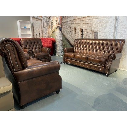 Fauxver Leather Sofa Collection