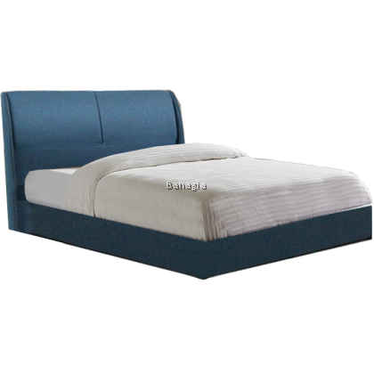 Deco Blue Bedframe