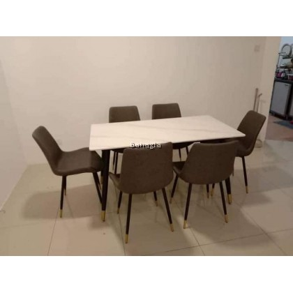 Leafre 1+6 Dining Set